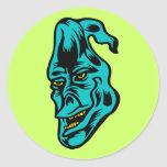 blue ghost stickers