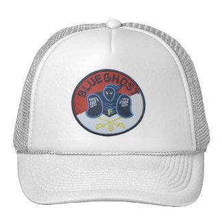 Blue Ghost troop Trucker Hat