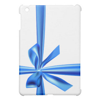 Blue Gift Bow Art Deco  Cover For The iPad Mini