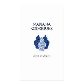 BLUE GINGER JARS TRIO DESIGNER Business Card