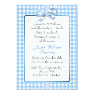 Baby Naming Ceremony Invitations Zazzle