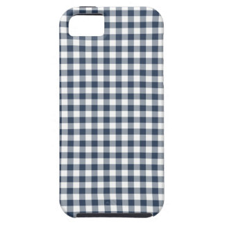 Blue Gingham iPhone 5 Case