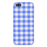 Blue Gingham Cases For iPhone 5