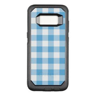 Blue Gingham OtterBox Commuter Samsung Galaxy S8 Case
