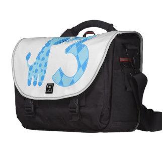 Blue Giraffe 3rd Birthday Commuter Bag
