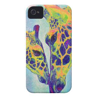 blue giraffe  i-phone iPhone 4 covers