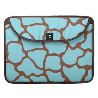 Blue Giraffe MacBook Pro Sleeve