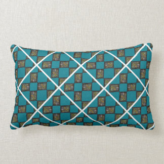 Blue Giraffe Pillow