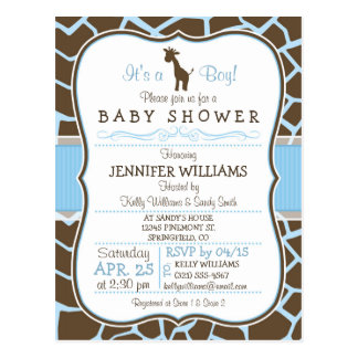 Baby Shower Postcards, Baby Shower Post Cards