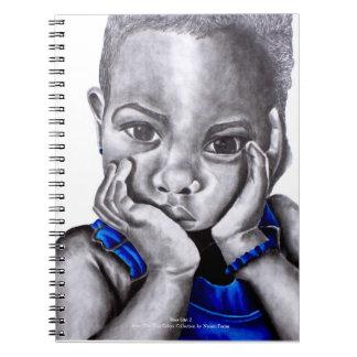 Blue Girl 2 Notebook