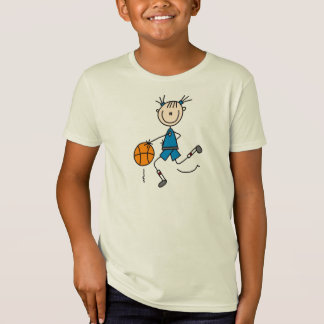 Blue Girl Basketball Player T shirts and Gifts