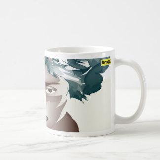 blue girl brag! mug