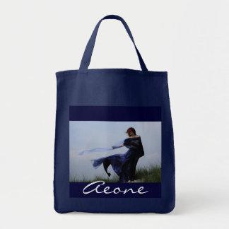 Blue Girl Canvas Bags