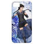 Blue Girl- iPhone 5 case