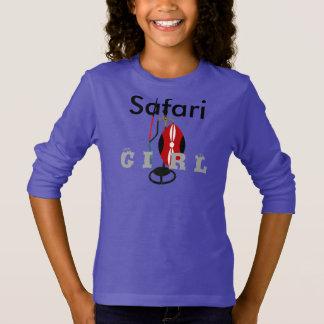 Blue Girly Hakuna Matata Safari Shirt