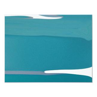 Blue Glacier Personalized Invitations