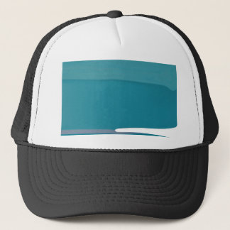 Blue Glacier Trucker Hat