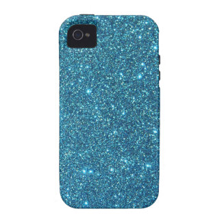 Blue Glam Glitter Sparkles! iPhone 4 Cover
