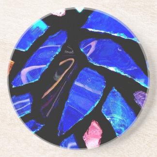 'Blue Glass' Coaster