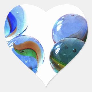 Blue Glass Images Sticker