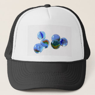 Blue Glass Images Trucker Hat