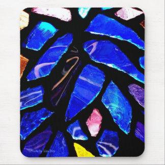 'Blue Glass' Mousepad