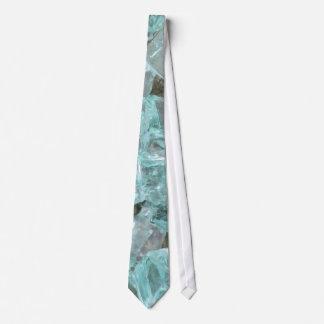Blue Glass Neck Tie