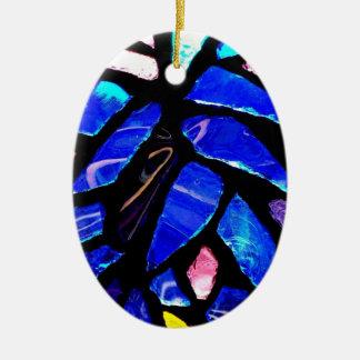 'Blue Glass' Ornament