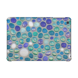 Blue Glass Rocks iPad Mini Cover