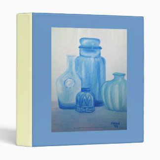 Blue Glass Still Life Avery Binder