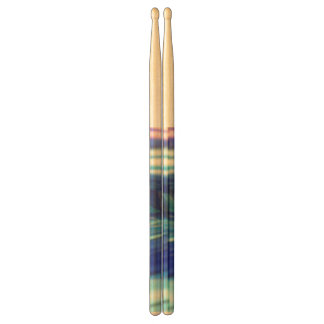 Miscellaneous Drum Sticks - Blue Grass Swirl Drumsticks