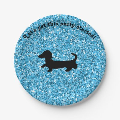sc 1 st  Zazzle & Dachshund Wiener Dog Party Plates | Zazzle.com