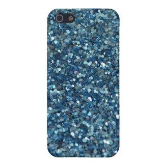Blue Glitter iPhone 5C Case