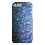 Blue Glitter iPhone 6 case sparkle