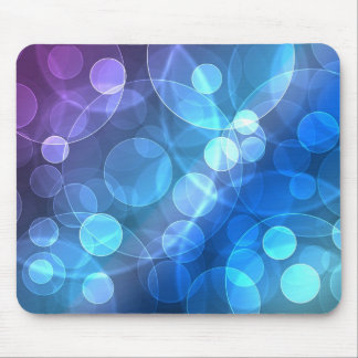 blue glitter mouse pad