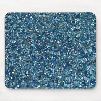 BLUE GLITTER PRODUCTS for HOLIDAYS or Any Day Mousepads
