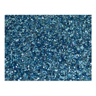 BLUE GLITTER PRODUCTS ~ for HOLIDAYS or Any Day! Postcard
