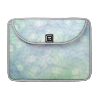 Blue glitter / sparkles (matt) sleeves for MacBooks