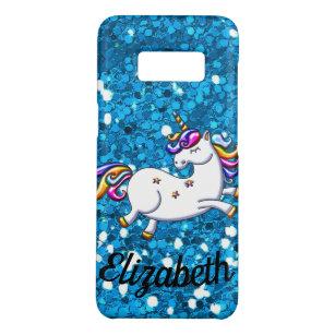 Red Glitter Unicorn Case-Mate Samsung