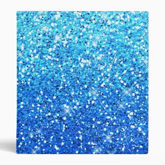 Blue Glitters Sparkles Texture Binder
