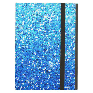 Blue Glitters Sparkles Texture iPad Air Cases