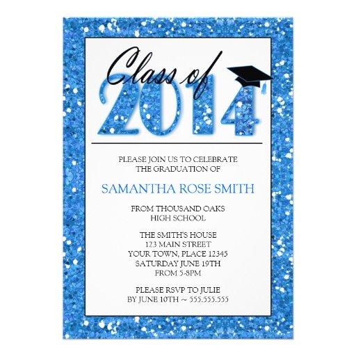 Graduation party invitation 2014