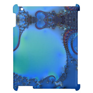 Blue Glory Fractal iPad Case