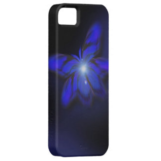Blue Glow Butterfly iPhone5 Case