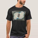 Blue Glow - Fractal T-shirt