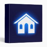 blue glow home binder
