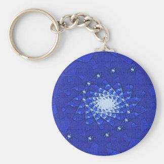 Blue Glow Key Chain