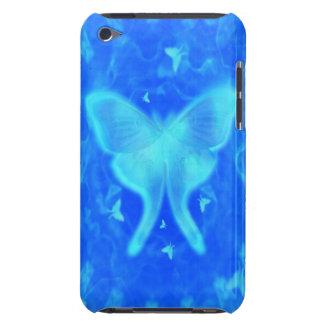 Blue Glow Luna Moth iPod Touch Case