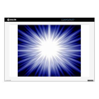 Blue Glow Skin For Laptop