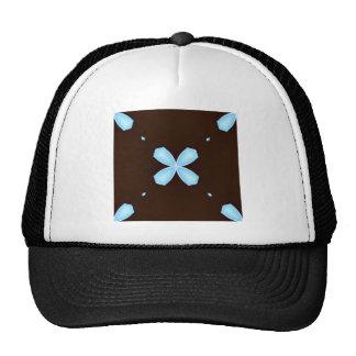 Blue glowing Pattern Trucker Hat